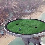 The tennis court with the most astonish view