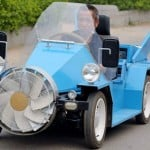 Wind-Powered Car (video)