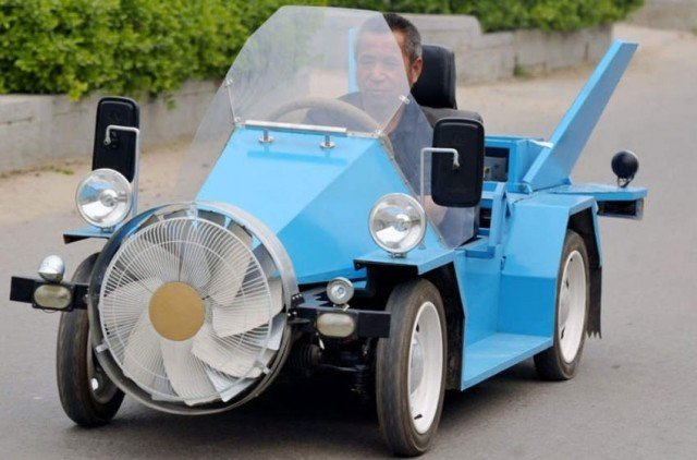 Wind-Powered Car