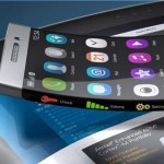 XSense bendable touch screen