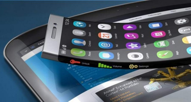 XSense bendable touch screen by Atmel