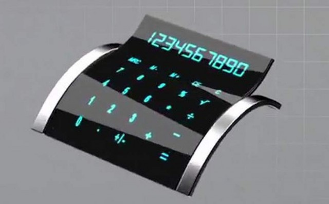 XSense bendable touch screen by Atmel (2)
