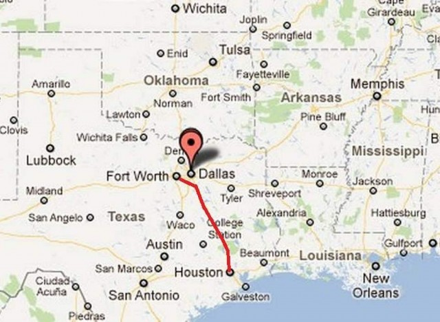$ 10 billion High-speed train proposed for Texas