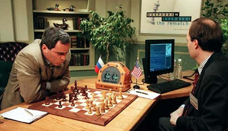 15 years ago the Computer beat Garry Kasparov