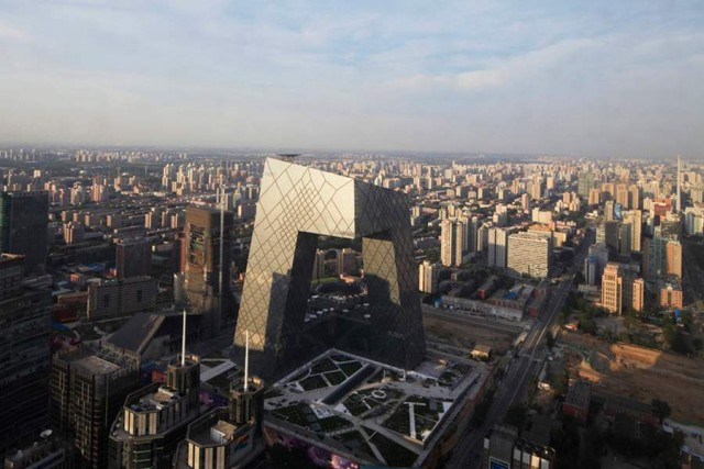 CCTV Headquarters by OMA (8)