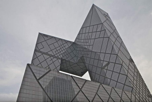 CCTV Headquarters by OMA (6)