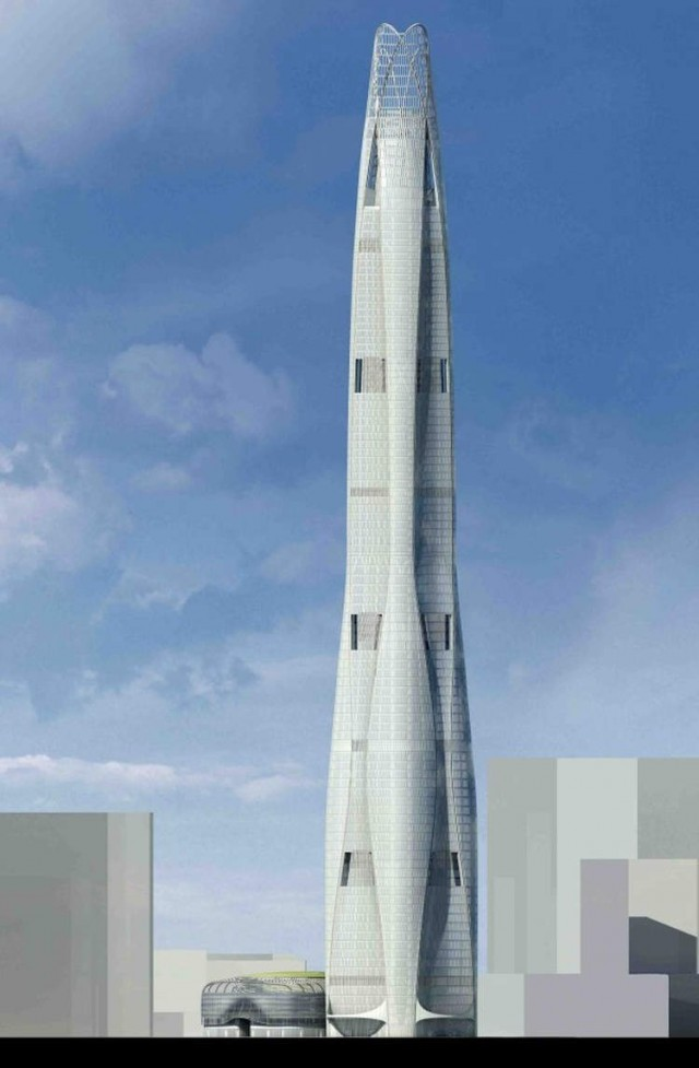 CTF Tianjin Tower by SOM