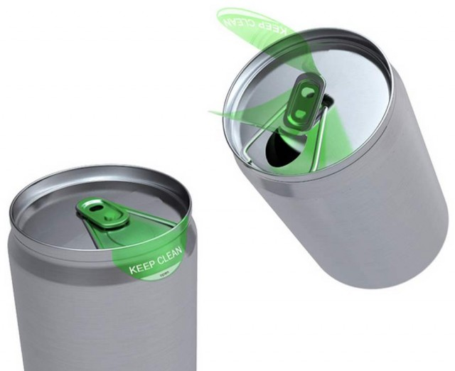 Clean Label for soda can