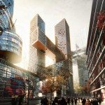 Cross # Towers in Seoul by BIG