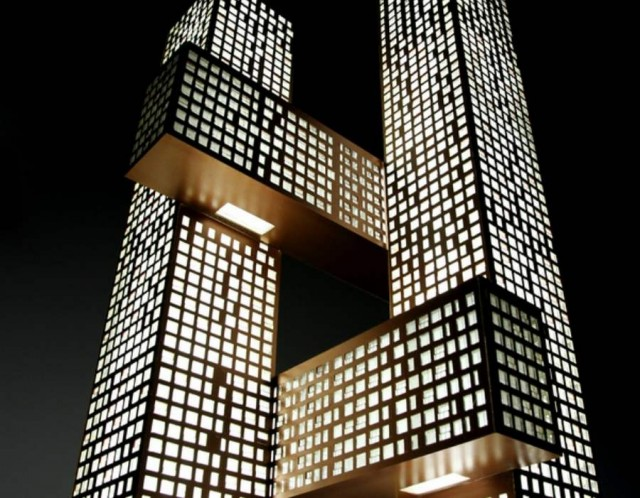 Cross Towers in Seoul by BIG (3)