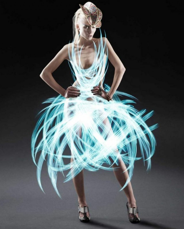 Light Painted Dresses by Atton Conrad (4)