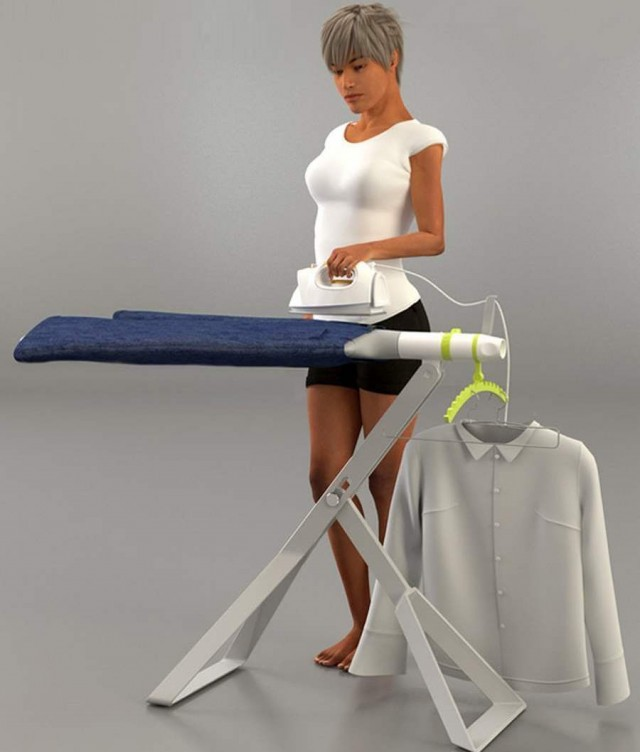 E-Board for easy ironing
