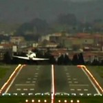 Emergency landing in Bilbao