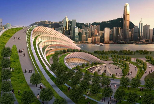 Express rail link West Kowloon terminus by Aedas (5)