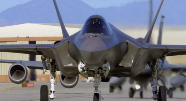 F-35 shot with Red Epic