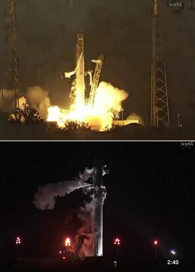 SpaceX - takes off