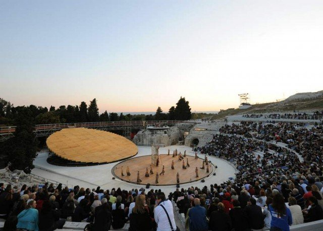 Greek Theatre in Syracuse by OMA