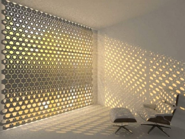 HEX curtain by Rael San Fratello