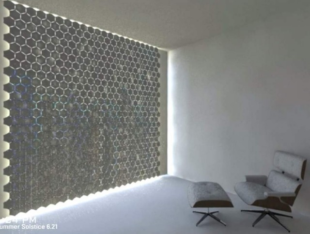 HEX curtain by Rael San Fratello (3)