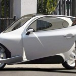 Lit motors C-1 electric motorcycle car