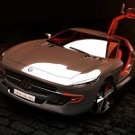 Mercedes 300 SL Gullwing by Slimane Toubal
