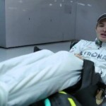 Nico Rosberg explains F1 driving position (video)