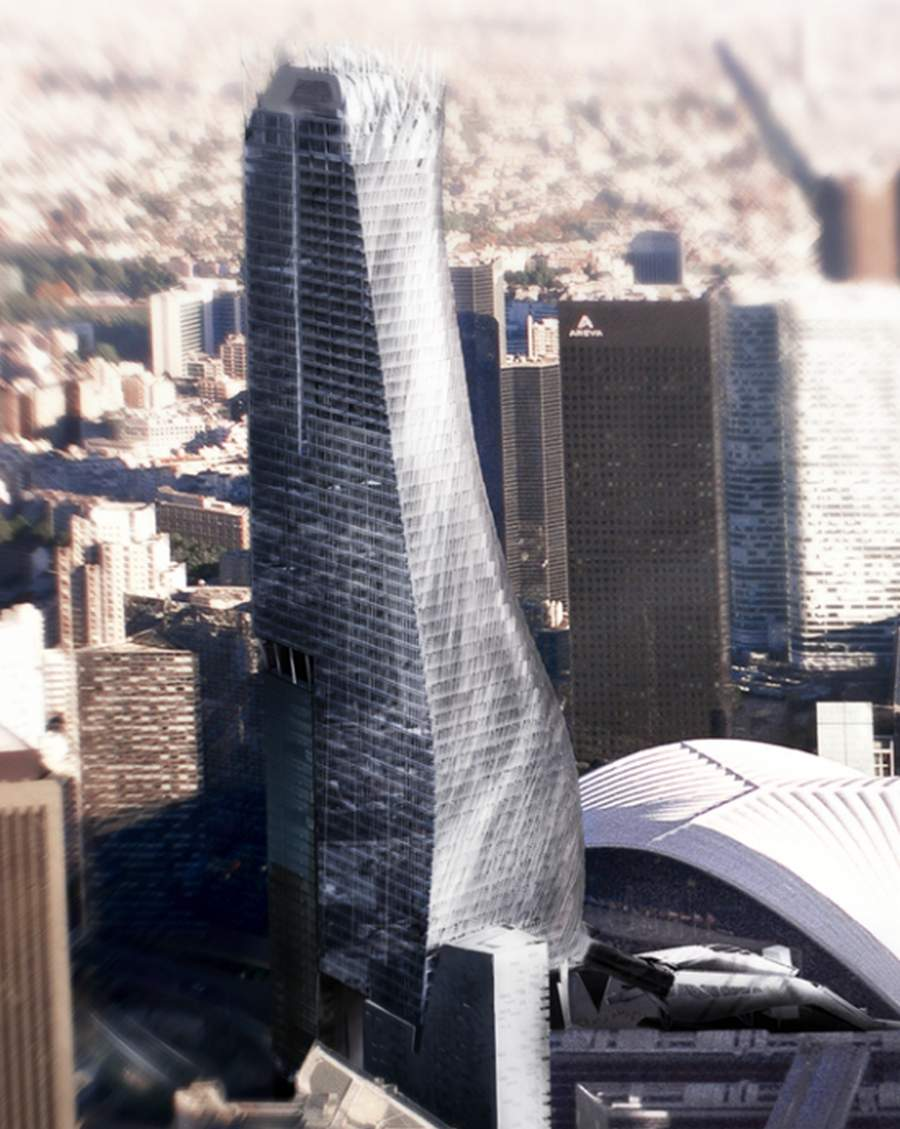 Tower Credit Union >> Phare Tower in Paris | wordlessTech