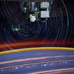 Psychedelic images from ISS