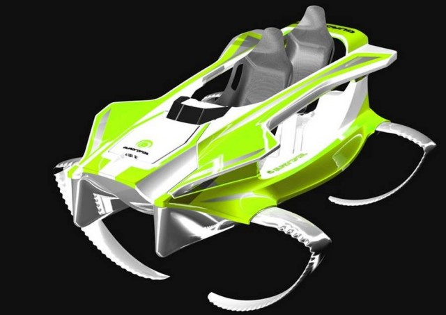 Quadrofoil electric hydrofoil (5)