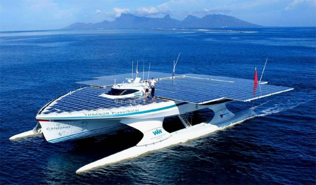 TURANOR PlanetSolar completes its trip around the world (7)