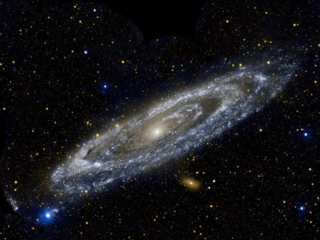 The Andromeda Galaxy by GALEX