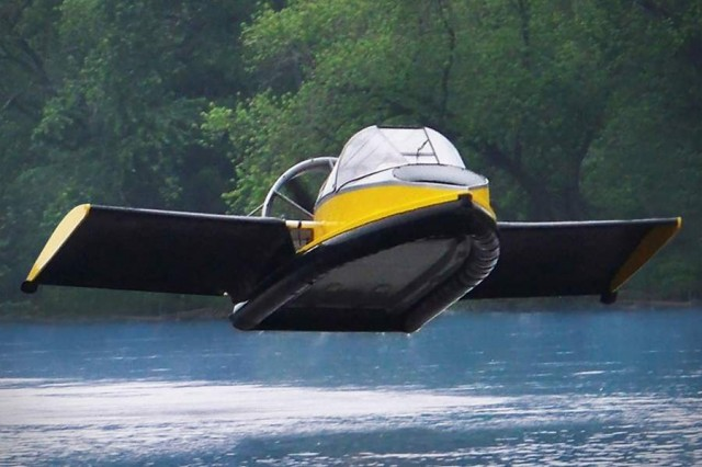 The Flying Hovercraft