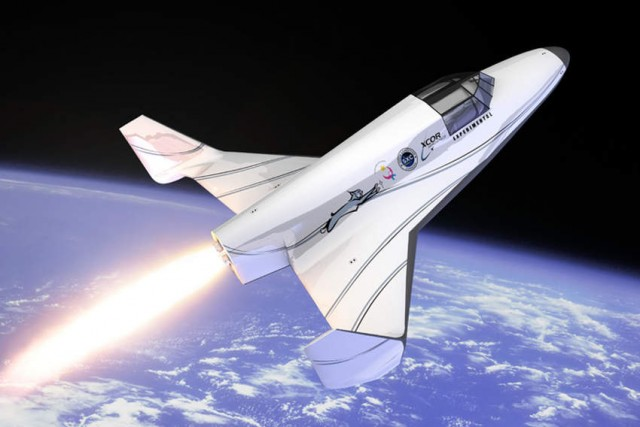 XCOR Aerospace's Lynx spacecraft
