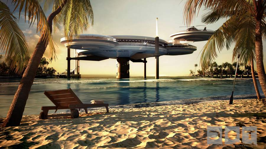 Wordlesstech underwater hotel in dubai for The big hotel in dubai