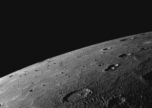 Craters on Mercury