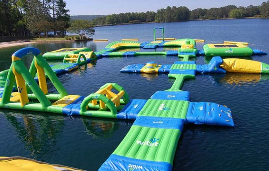 Wordlesstech Wibit Inflatable Water Park