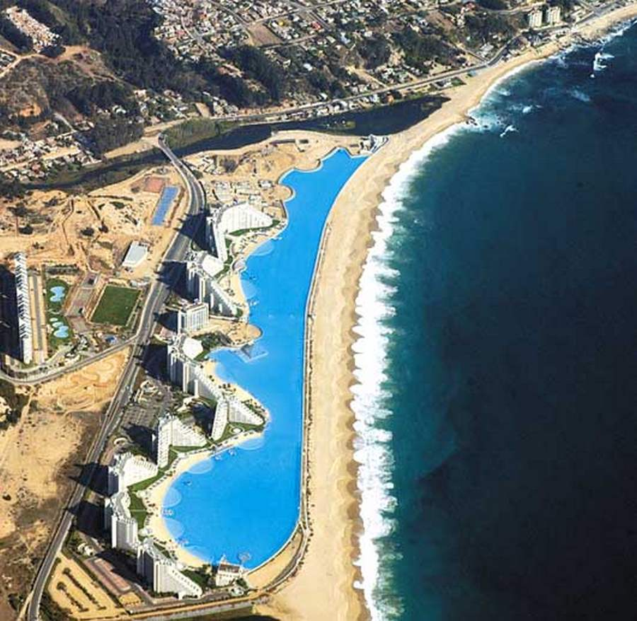 Wordlesstech world s largest swimming pool - The biggest swimming pool in chile ...