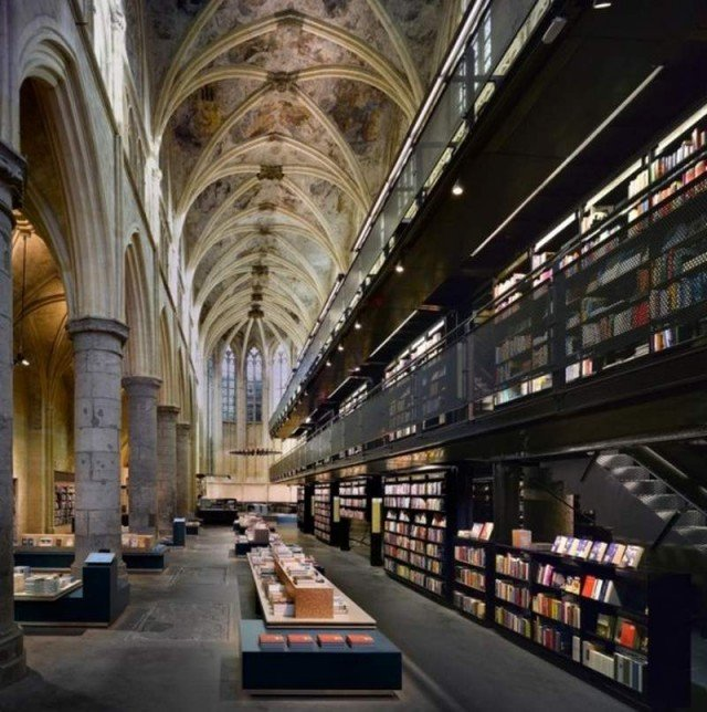 13th Century Church Converted to modern Library