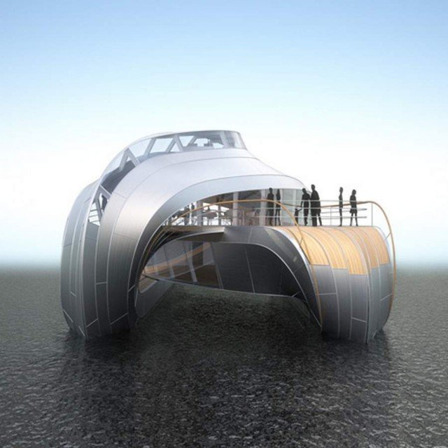 A boat for the Loire river by Thomas Heatherwick