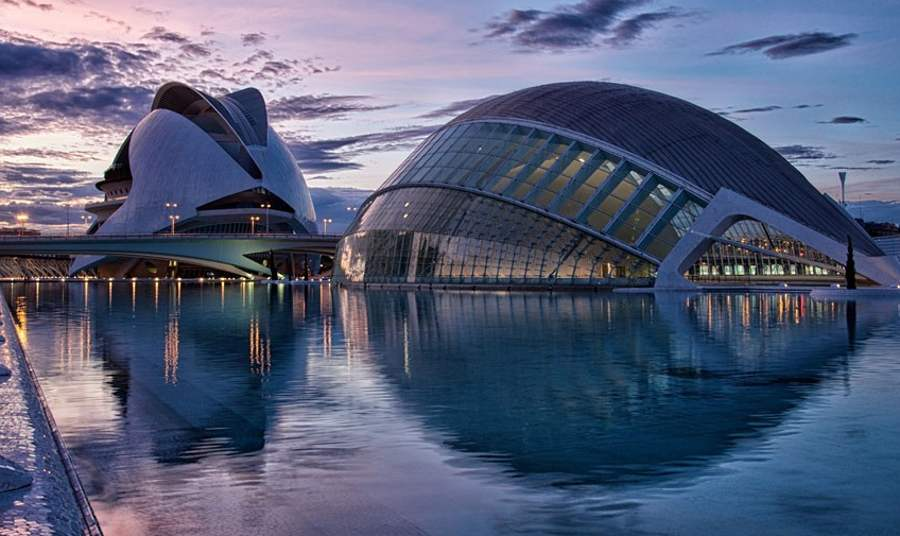 wordlessTech  City of Arts and Sciences, Valencia