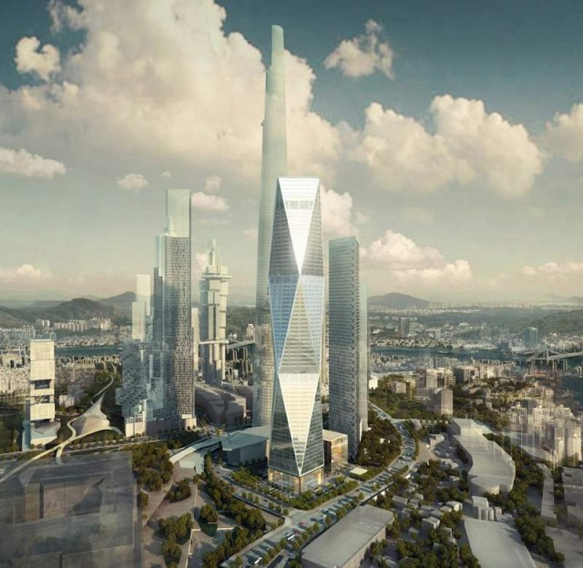 Diagonal Tower by SOM (7)