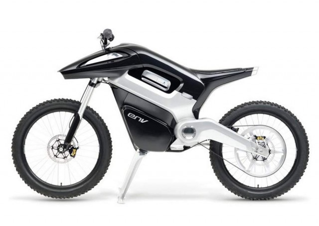 ENV Hydrogen Fuel Cell Motorcycle by Seymourpowell