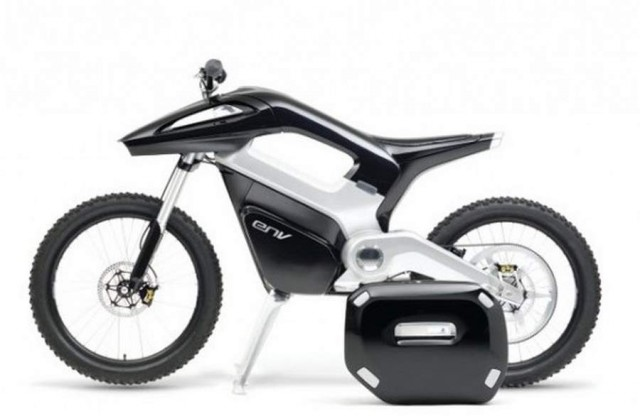 ENV Hydrogen Fuel Cell Motorcycle by Seymourpowel
