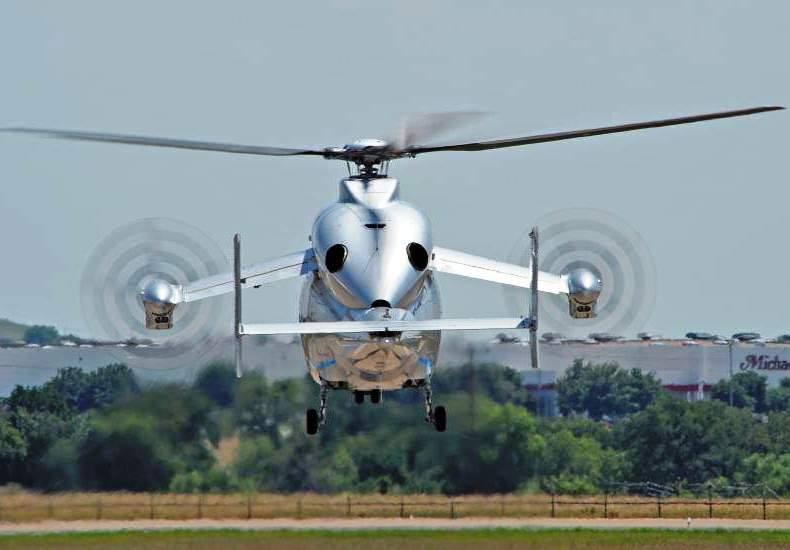 Eurocopter X3 - 1st Flight over US