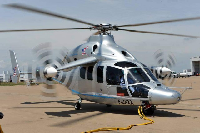 Eurocopter X3 - 1st Flight over US (2)