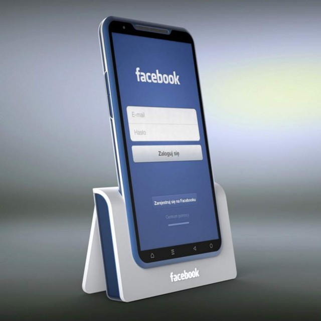 Facebook Bluephone concept by Michal Bonikowski (1)
