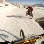 Glacier Bike Downhill