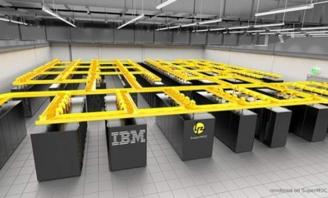 IBM's water-cooled Supercomputer