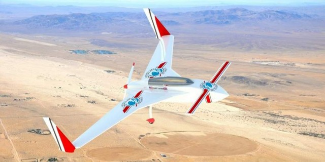 Infinite Range Electric Flight system by Flight of the Century (2)