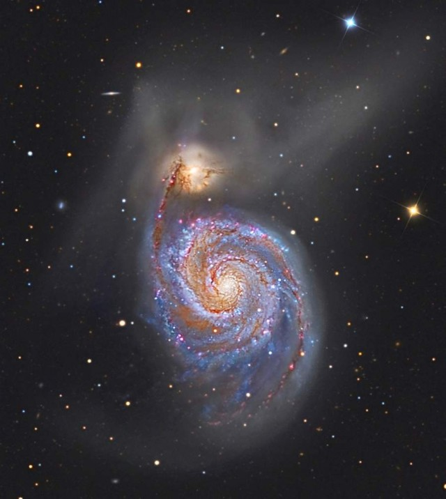 M51- The Whirlpool Galaxy